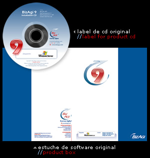 estuche de software original // product box