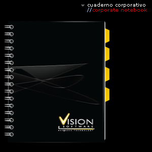 cuaderno corporative//corporate notebook